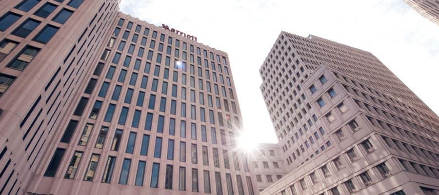 Marriott Hotel am Potsdamer Platz hier betreibt Inolares eine ständig besetzte Stelle